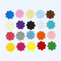 20 Color flower patch Small daisy flower embroidered iron on DIY sew on patches