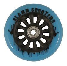 Slamm - Nylon Core Wheels - 100mm - Blue- Scooter Wheels ***One Wheel***