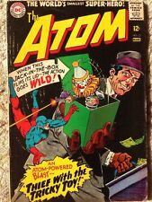 "The Atom #23 (DC,1966) ""Riddle Of The Far-Out Robbery Thief with the Tricky Toy"""