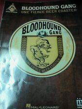Bloodhound Gang one fierce beer coaster guitar tab book