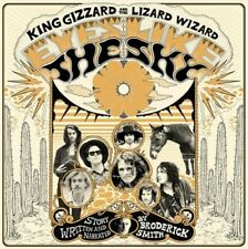 King Gizzard & The Lizard Wizard Eyes Like Sky ORANGE VINYL LP Record & MP3! NEW