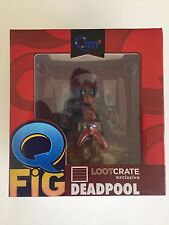 New Loot Crate Exclusive Marvel Deadpool Q-Fig Fig Vinyl 2015 Collectible Figure