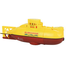 6CH High Speed Radio Remote Control Mini Yellow RC Submarine Boat Kids Toy