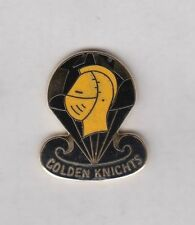 US Army Parachute Team Golden Knights crest DUI badge G-23