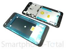 Original HTC Desire 626G Front Gehäuse Cover f. Display Kleber Rand, schwarz