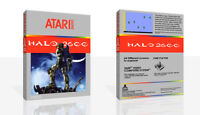 - Halo 2600 Spare Replacement Game Case Box + Cover Art Work Only