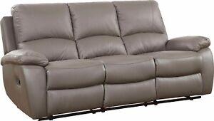 3-Sitzer Sofa Lion Polstersofa verstellbar Relaxfunktion Taschenfederkern Wellen