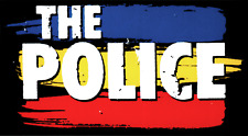 5626 The Police Red Blue Yellow Stripe Logo Rock Music Band 80s Sticker / Decal