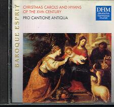 CD album: Christmas carols and hymns of the XVth century: pro cantione antiq. C5