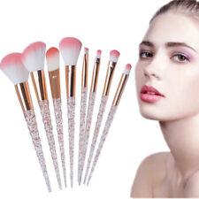 8pcs Unicorn Makeup Brushes Set Synthetic Foundation Eyeshadow Blending Brushes