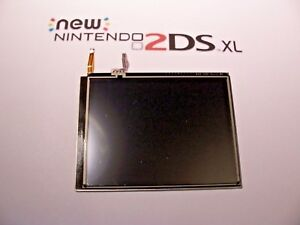 Nintendo used 2DS XL Bottom LCD Screen & Touch/Digitizer Replacement Repair Part