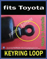 fits Toyota LandCruiser Corolla Hilux remote key -  Key Ring Loop (2 SETS)