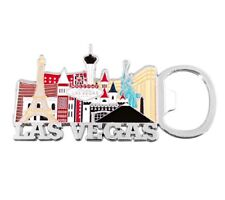 Las Vegas Sign Hotels Casino Magnetic Bottle Opener Beer Bottle Soda Magnet