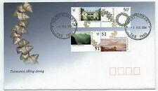 2004 Tasmania 1804-2004 Set of 4 Fdc
