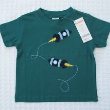 NEW Gymboree Baby Toddler Boys 12-18 mos Rocket Cotton Short Sleeve T-Shirt