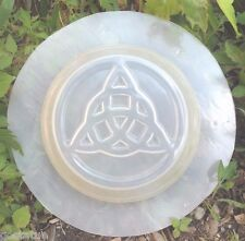 Gostatue MOLD celtic decor plastic triqueta mold