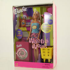 Mattel - Barbie Doll - 2000 Wash N Wear Barbie Set *NM Box*
