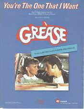 You're The One That I Want - Olivia Newton-John/John Travolta - 1978 Sheet Music