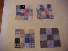 11 Quilt Blocks, Circa 1920s, Sixteen and Nine Patch, #71376