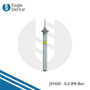 5x Orthodontic IPR FG Burs J316 SF/PF Grit - Interproximal Reduction 0.3/0.4 Bur