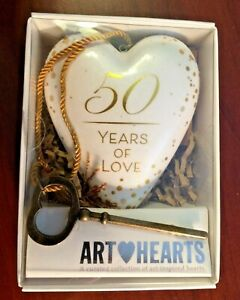 ART HEARTS BY DEMDACO - 50 YEARS OF LOVE