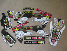 TEAM ROCKSTAR 150RB HONDA  GRAPHICS  HONDA CRF150R CRF150RB  LIQUID COOLED