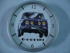 RENAULT 8 GORDINI reloj de pared RELOJ 20cms ( KDO DKO R8 RALLY COTA CIRCUITO