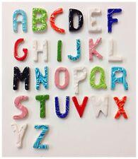"""10 - 1"""" Handmade Ceramic Mosaic letter Tiles"""