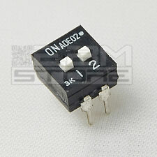 Interruttori DIP SWITCH DIL a 2 contatti - ART. EY01
