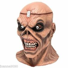 Halloween Adult Metal Head Overhead Latex Rubber Costume Mask Iron Maiden Eddie