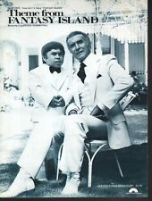 Fantasy Island Theme 1977  Ricardo Montalban Herve Villechaize Sheet Music