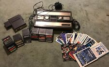 Mattel Intellivision Console, Intelivoice and 20 Games