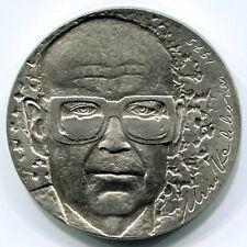 1975 Suomi Finland 10 Markkaa President Kekkonen Silver Argento
