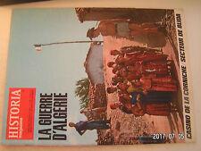 **aa Historia Magazine Guerre d'Algérie n°228 Casino de Corniche  Affaire Mahsas