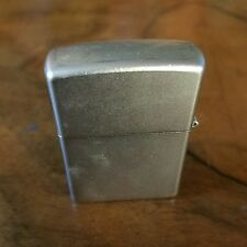 ORIGINAL-ETCHED-ZIPPO LIGHTER-GREAT FOR IT'S VINTAGE AGE-NEW ELAND BARN FIND