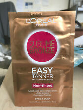 1 x L'Oreal Tanning tanning wipes 2pk Multi Buy CHEAPEST ON EBAY BIG SALE