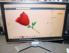 """Dell 20"""" Widescreen LCD Monitor Model: 2009Wt with Speaker bar as pictured"""