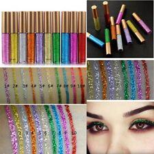Waterproof Sparkling Glitter Liquid Eyeliner Metallic Shimmer Eyeshadow Cosmetic