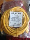BLACK BOX CAT6PC-025-YL  CONNECT CAT6 PATCH CABLE-250 MHZ ETHERNET- 25 Feet -NEW