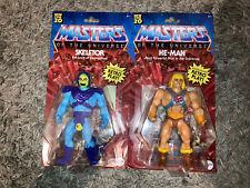 HE-MAN & SKELETOR MOTU MASTERS OF THE UNIVERSE ORIGINS Figures