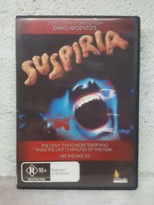 SUSPIRIA  DVD - 1977 DARIA ARGENTO - HORROR MOVIE