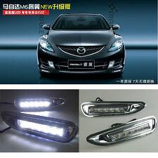 car Driving LED DRL Daytime Running Lamp Light For Mazda 6 RUIYI 2006-2010