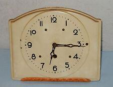 Uhr Wanduhr Küchenuhr Steingut Keramik Art Dèco alt antik 1930