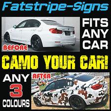 Car Kit de Camo Gráficos Pegatinas Calcomanías Bonnet techo Audi BMW Ford Opel Honda