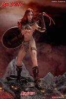 1/12 TBLeague Red Sonja Warrior Queen Female Palm Action Figure PL2020-163 Model