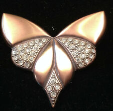 Classic Art Deco Crystal Embellished Brooch