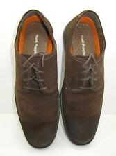 Hush Puppies Men's Shoes Plane Oxford 10.5 Medium Dark Brown Suede New In Box