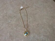 Lia Sophia Lily Pad Necklace NWT!