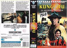 KUNG FU LA LEGGENDA CONTINUA (1992) vhs ex noleggio