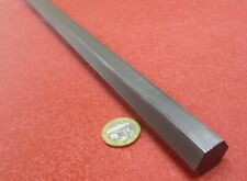 "12L14 Carbon Steel Hex Rod 3/4"" Hex x 3 Foot Length"